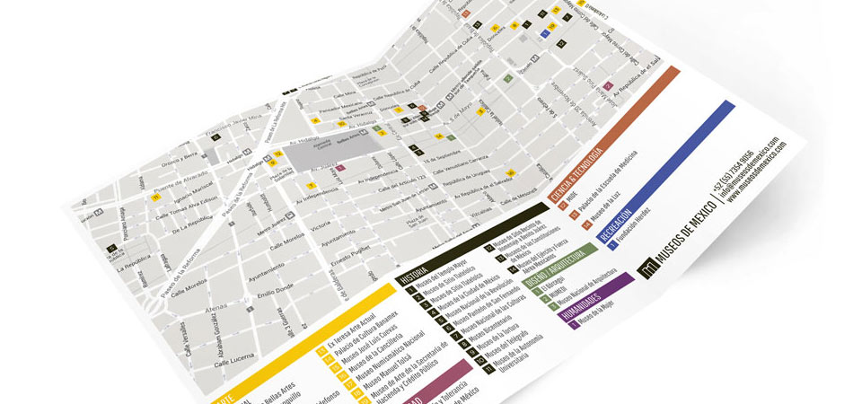 Download the museum map of the historic center