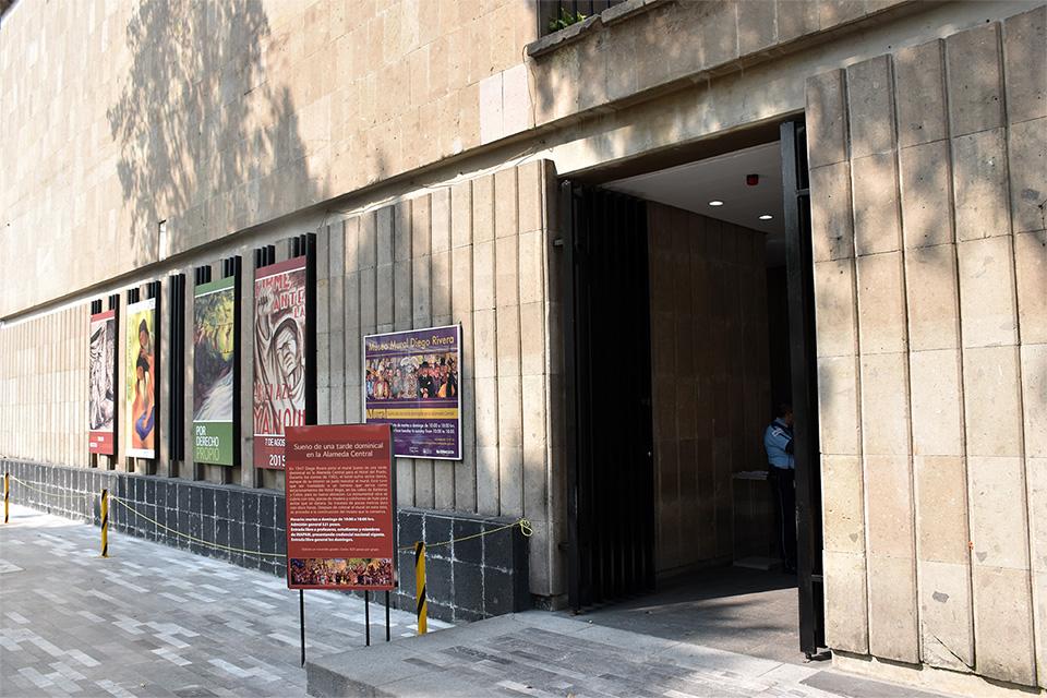 Museo Mural Diego Rivera Centro Historico Ciudad De Mexico