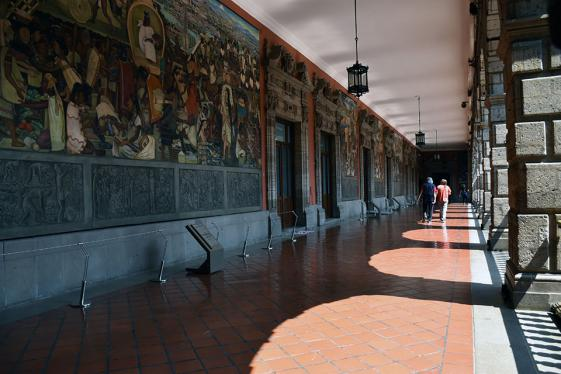 Tour National Palace Mexico City