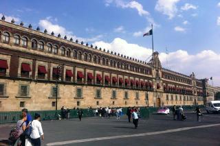 Tour de National Palace Mexico